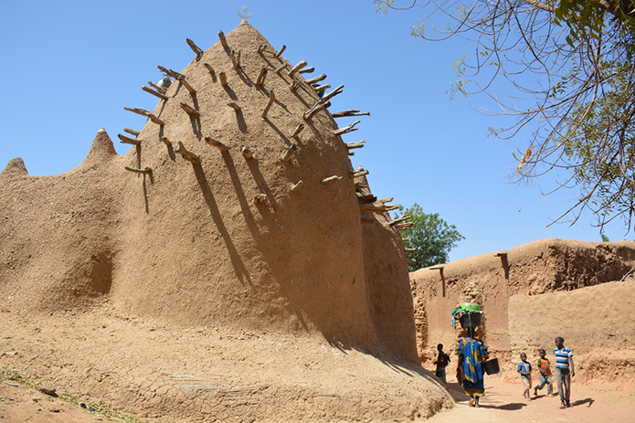 Ba Sounou Sacko mosque in Segou Koro. SB