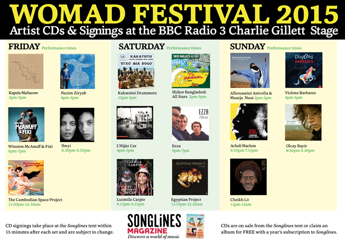 Songlines at WOMAD