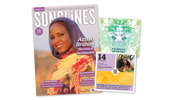 April Issue Songlines