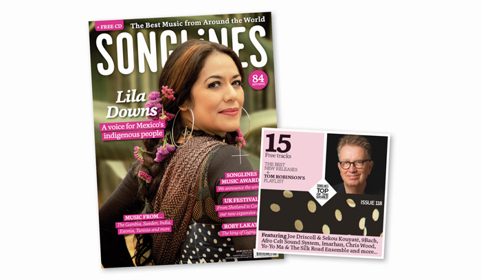 Songlines June Edition - Lila Downs
