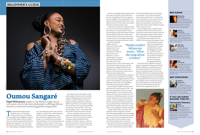 Beginner's Guide to Oumou Sangaré