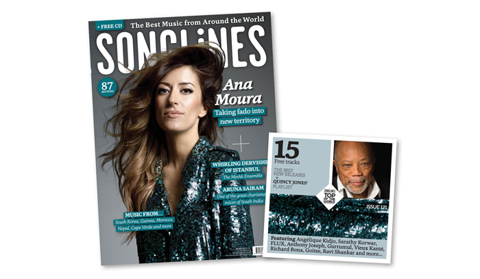 Songlines October Ana Moura